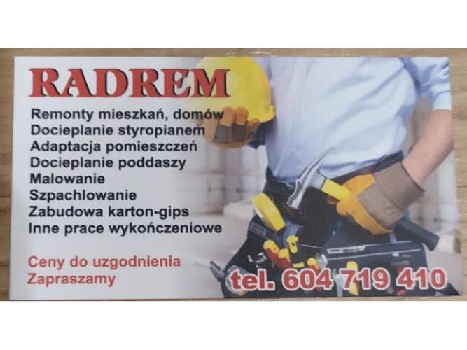 Grajewo ogłoszenia: Witam, potrzebujesz remontu, mieszkania domu? Zadzwoń ! 604-719-410