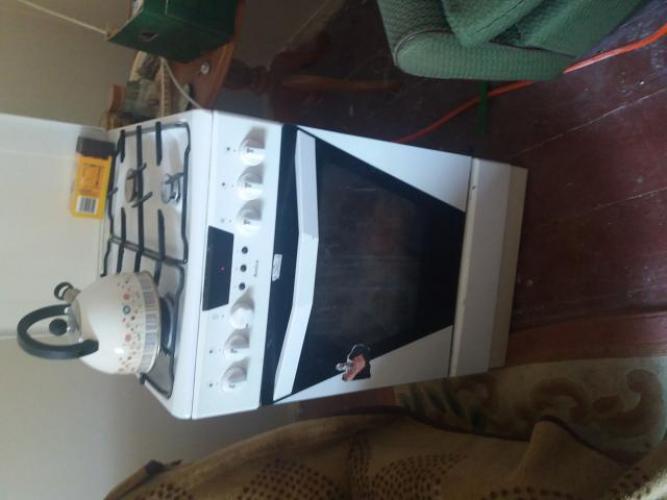 Grajewo ogłoszenia: Sprzedam kuchenkę gazową z piekarnikiem elektrycznym firmy Amica.