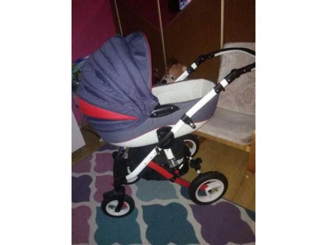 Grajewo ogłoszenia: Sprzedam Wózek Adamex Barletta 2w1 Gondola Spacerówka w dobrym...