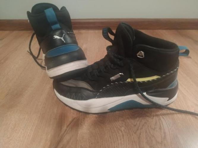 Grajewo ogłoszenia: Sprzedam buty Puma rozmiar 42. Stan oceniam na 4+, syn syn chodził...
