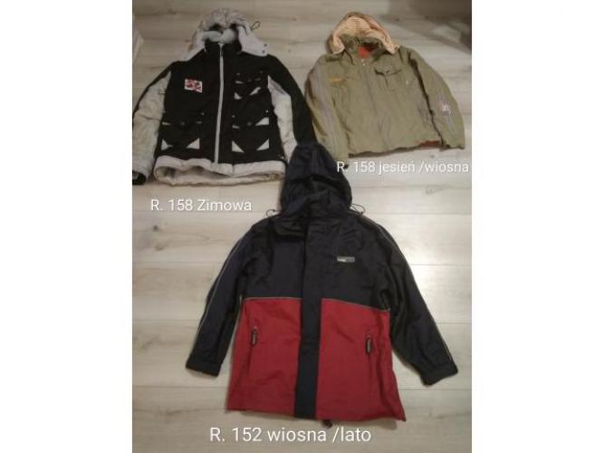 Grajewo ogłoszenia: Sprzedam tanio 3 kurtki dla chłopca 152 /158  ciepła zimowa I...
