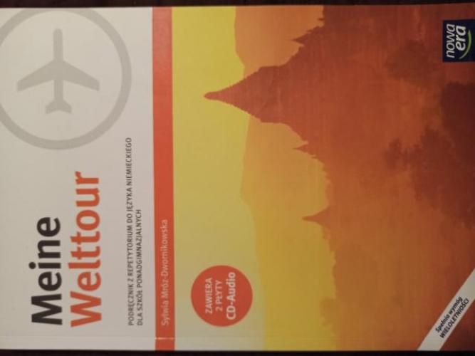 Grajewo ogłoszenia: Sprzedam książkę Meine Welttour 4 cena 25 zl