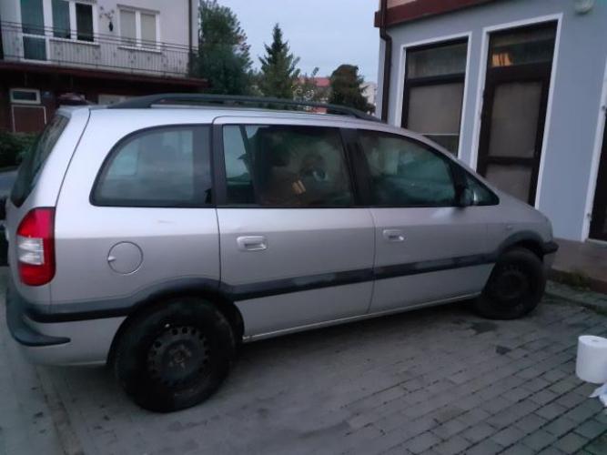 Grajewo ogłoszenia: Sprzedam Opel Zafira 1.8 16V, benzyna, rok produkcji 2003.  Auto...