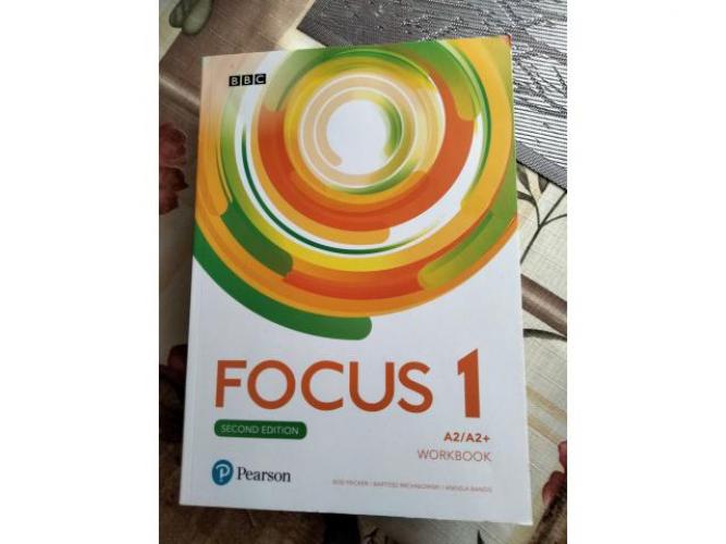 Grajewo ogłoszenia: Sprzedam Nowe Ćwiczenie do języka angielskiego Focus 1