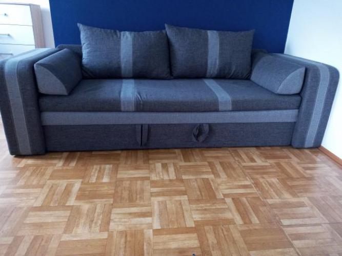 Grajewo ogłoszenia: Sprzedam kanapę rozkładaną, stół z 4 krzesłami, szafkę rtv i...