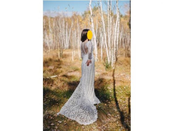 Grajewo ogłoszenia: Sprzedam wygodną suknię ślubną z odpinanym trenem, która...
