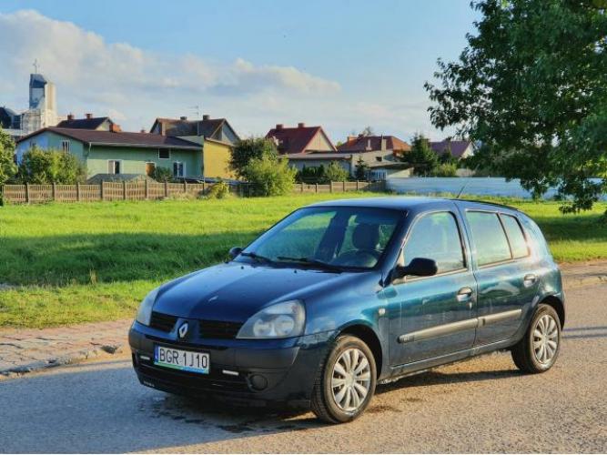 Grajewo ogłoszenia: Sprzedam, Używany samochód Renault Clio 2004/2005r.  Diesel...