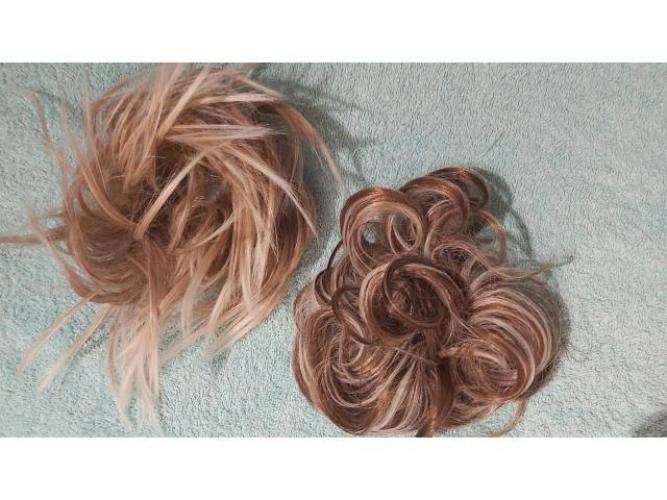 Grajewo ogłoszenia: Sprzedam dopinkę do włosów, jest to koczek na gumkę 2 szt....