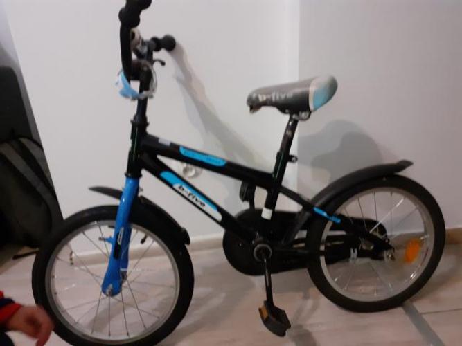 Grajewo ogłoszenia: Rower 16 kółka i rączką do nauki jazdy.
