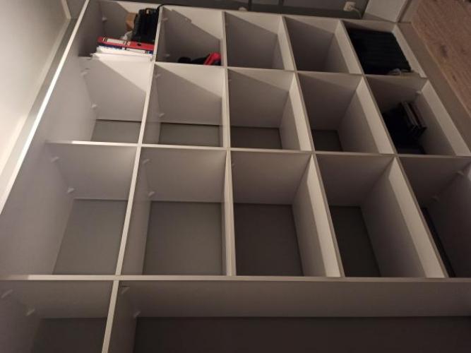 Grajewo ogłoszenia: Sprzedam zabudowę garderoby, regały oraz dwie wysokości do...