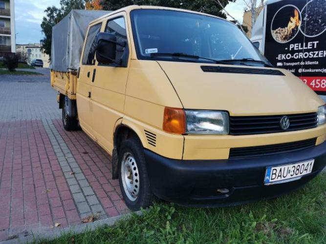 Grajewo ogłoszenia: Witam. Sprzedam Volkswagen Transporter doka 1.9 td. Rocznik...
