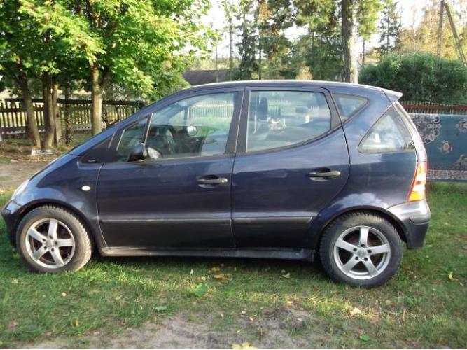 Grajewo ogłoszenia: Mercedes A Klasa 168, rok 2002, pojemność 1,4. Nowe opony, 2 x...