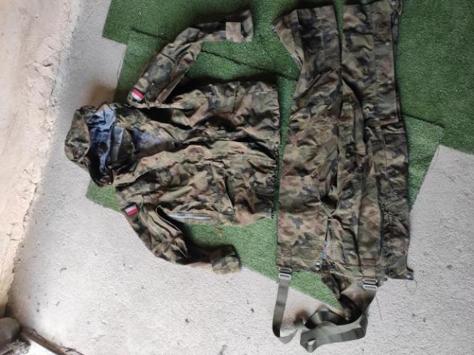 Grajewo ogłoszenia: Ubranie wojskowe GORE-TEX 128Z M/R wzór 128Z/MON  Oryginalne dla...