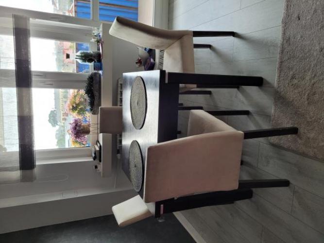 Grajewo ogłoszenia: Sprzedam komplet stół + krzesła.  Stół 100cm rozkladany z 2...