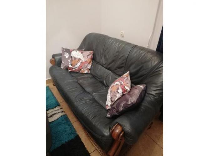 Grajewo ogłoszenia: sprzedam ładną kanape skórzaną st. bdb.