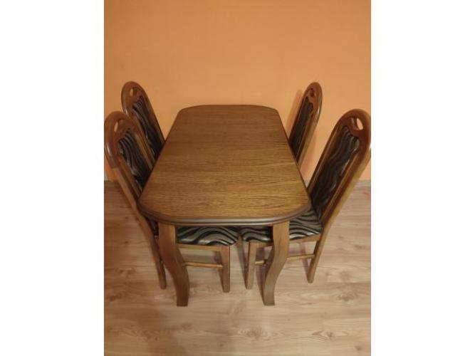 Grajewo ogłoszenia: Sprzedam w stanie idealnym rozkładany stół z krzesłami....