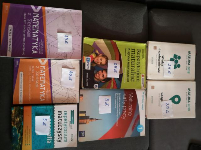 Grajewo ogłoszenia: Sprzedam książki.