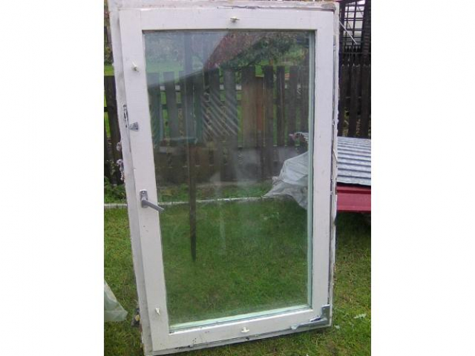 Grajewo ogłoszenia: sprzedam  3 okna z futrynami z demotazu wymiary88x145-cena d/u
