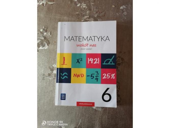 Grajewo ogłoszenia: Sprzedam matematyka wokół nas zbiór zadań klasa 6. Odbiór...