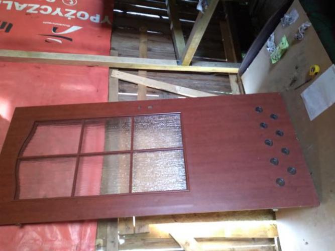 Grajewo ogłoszenia: Drzwi Biale lazienkowe  80 cm lewe