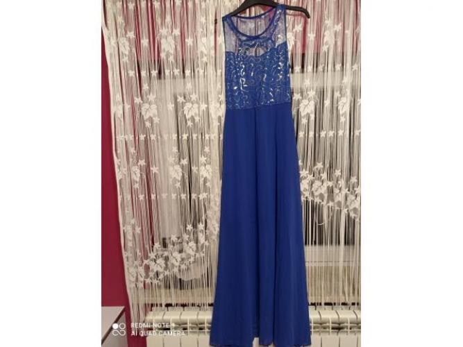 Grajewo ogłoszenia: Sprzedam piękną sukienkę kolor chabrowy.Rozmiar S /M.Stan bardzo...