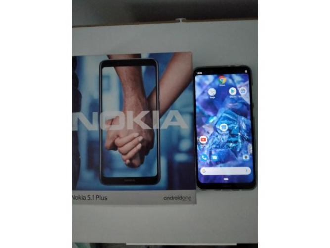 Grajewo ogłoszenia: Sprzedam telefon widoczny na zdjęciu Nokia 5.1 Plus czarny...