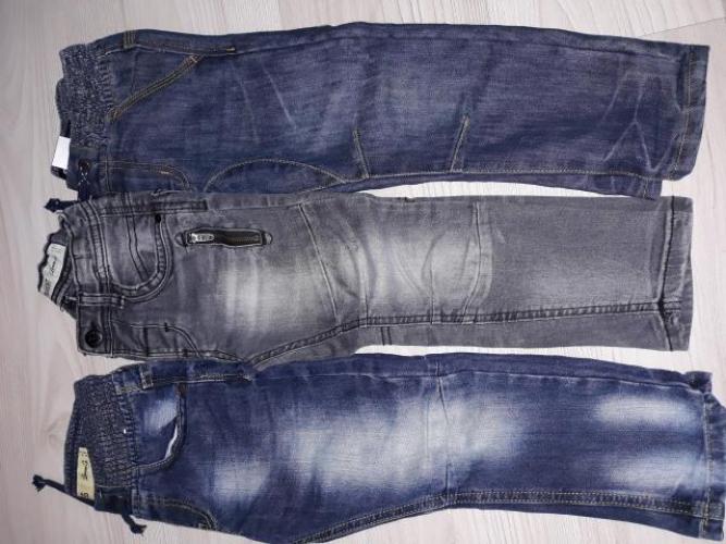 Grajewo ogłoszenia: Spodnie chłopięce rozm. 104  Cena za 3 sztuki