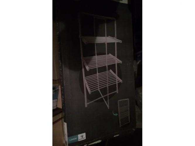 Grajewo ogłoszenia: Sprzedam suszarkę elektryczną 300W na pranie, 3poziomowa, na...