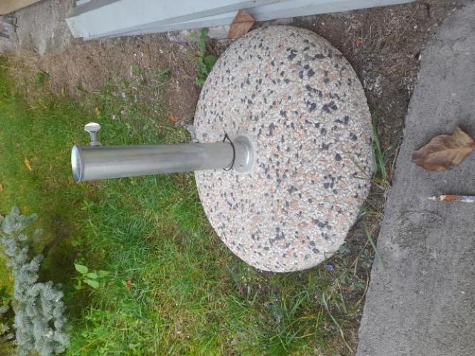 Grajewo ogłoszenia: podstawa do parasola ogrodowego 100zeta