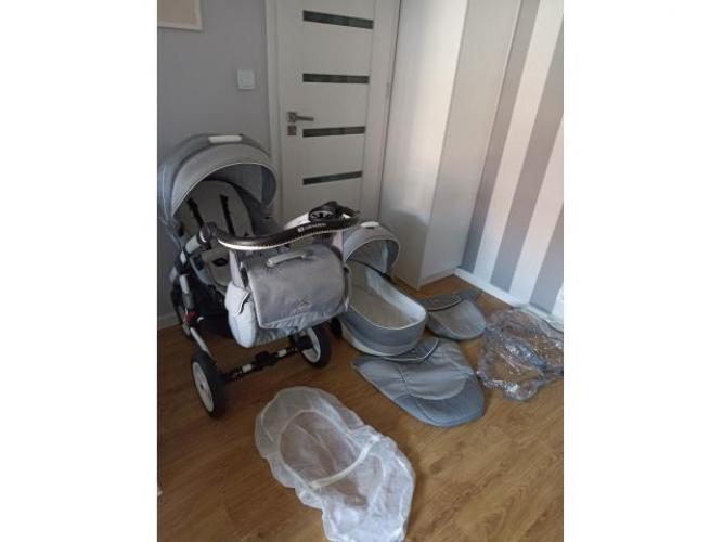 Grajewo ogłoszenia: Sprzedam wózek Adamex Aspena 2w1. Wózek jest lekki i zwrotny....