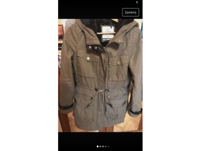 Grajewo ogłoszenia: Ciepła kurtka zimowa, stan idealny. Rozmiar M