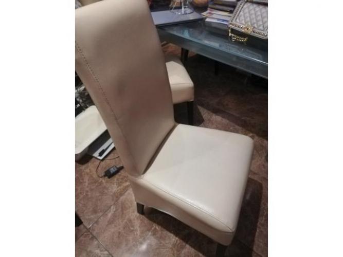 Grajewo ogłoszenia: sprzedam 4 krzesła mało używane