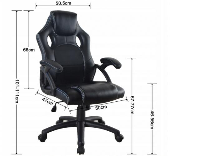 Grajewo ogłoszenia: Sprzedam nowy fotel biurowy na kółkach.