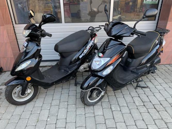 Grajewo ogłoszenia: Sprzedam skutery o pojemnościach 50 cm3. Sprowadzone z Niemiec,...