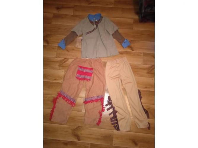 Grajewo ogłoszenia: Sprzedam ubranie Indianina założone tylko raz. Rozmiar 110-116 cm...