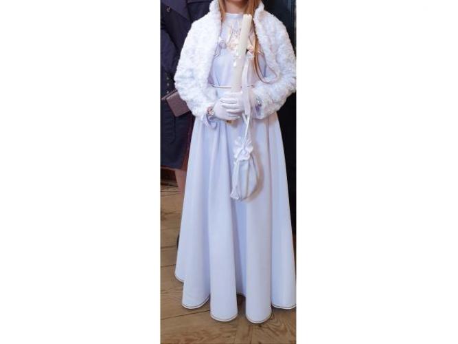 Grajewo ogłoszenia: Posiadam śliczną albę dla dziewczynki rozmiar 140cm wraz z...