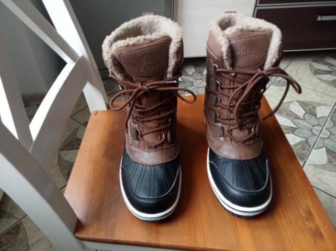 Grajewo ogłoszenia: Sprzedam buty zimowe chłopięce. Buty były założone kilka razy...