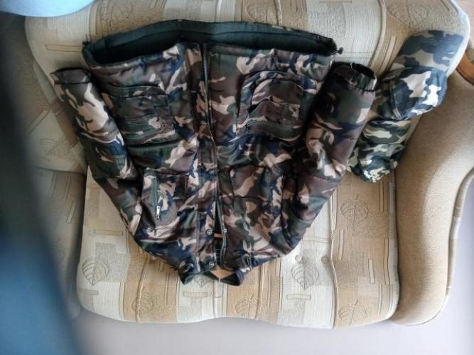 Grajewo ogłoszenia: Sprzedam nowa kurtke meska moro bardzo ciepla rozmiar XXL 100...