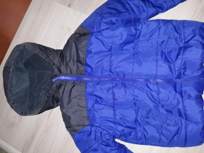 Grajewo ogłoszenia: Sprzedam zimową kurtkę chłopięcą rozm 116