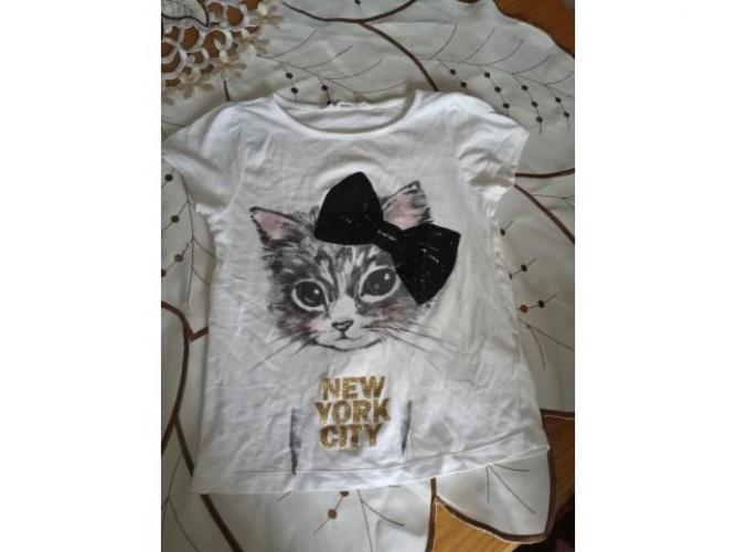 Grajewo ogłoszenia: Sprzedam mega paku ubrań dla dziewczynki r 128. Bluzy bluzki...
