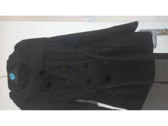 Grajewo ogłoszenia: Sprzedam płaszczyk damski koloru czarnego w dobrym stanie rozmiar 38