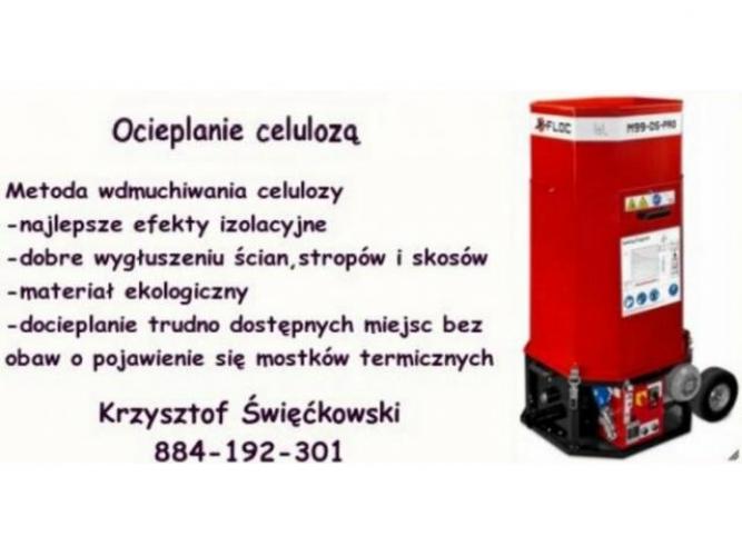 Grajewo ogłoszenia: Ocieplanie celulozą - najlepsze efekty izolacyjne.  zobacz:...