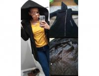 Grajewo ogłoszenia: Sprzedam damski płaszczyk zimowy.  Kolor czarny, bardzo duży...