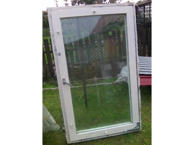 Grajewo ogłoszenia: sprzedam okna drewniane z demontażu  88x145-sztuk3 cena d/u