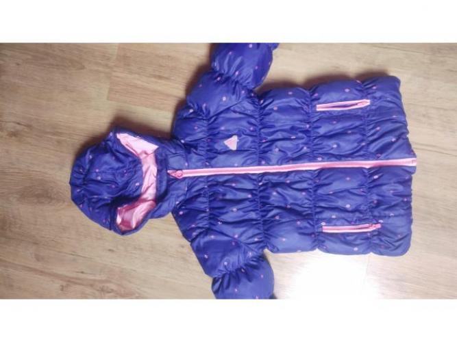 Grajewo ogłoszenia: Sprzedam kurtkę dla dziewczynki. Ciepla i lekka na piorach. Stan...