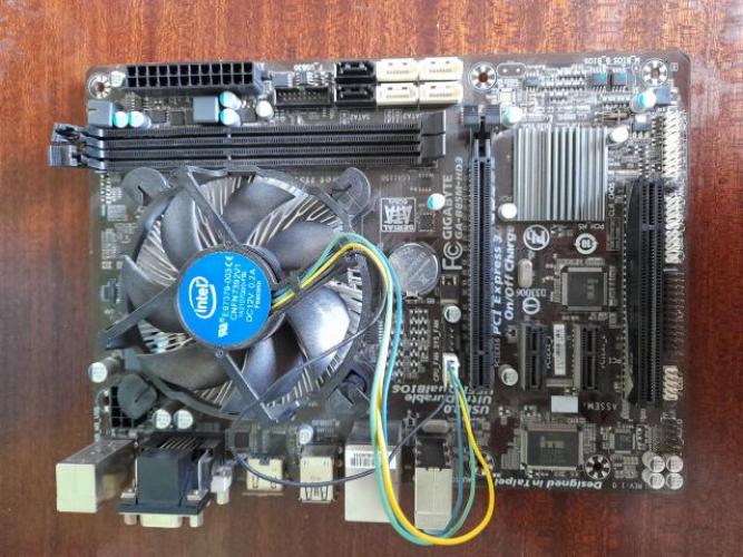 Grajewo ogłoszenia: Sprzedam  płytę główną z procesorem i chłodzeniem
