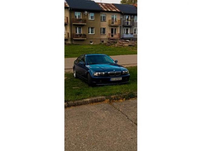 Grajewo ogłoszenia: Sprzedam BMW E46 coupe z niezawodnym silnikiem 2.2 170 KM benzyna +...