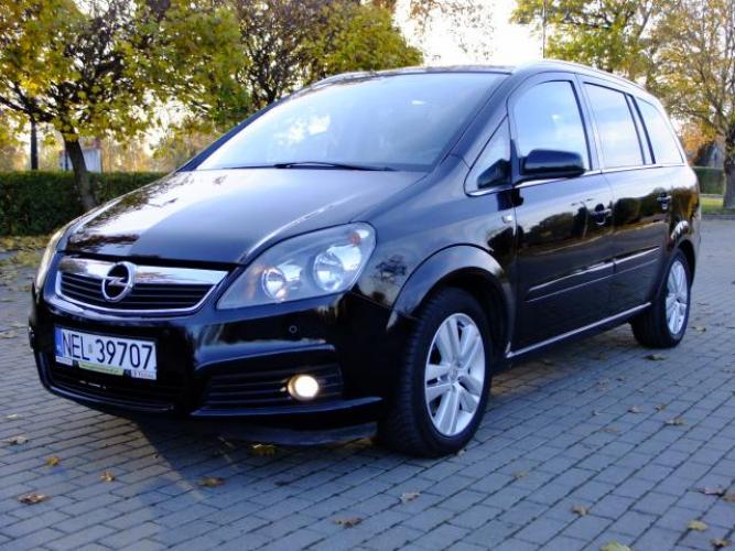 Grajewo ogłoszenia: Opel Zafira 1,9 cdti 150KM rok XII 2007/2008  nowe...