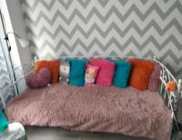 Grajewo ogłoszenia: Sprzedam w bardzo dobrym stanie łóżko metalowe białe z...