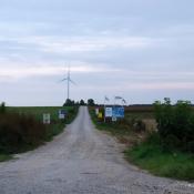 Zdjęcie dnia: Kolejne turbiny wiatrowe...